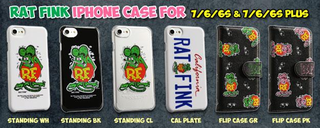 iPhone7/6/6sシリーズ対応のラットフィンクアイフォンケース♪ ラットフィンク iPhoneケースのバナー