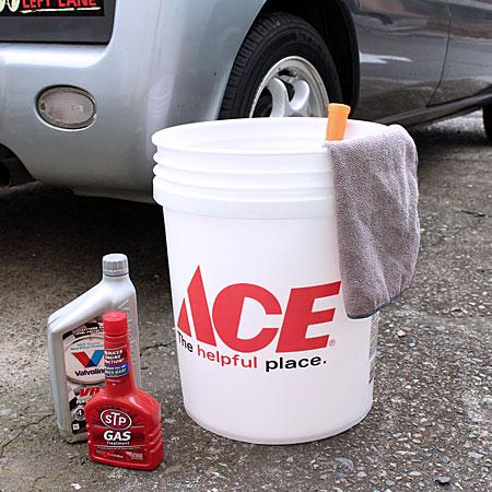 アメリカンバケツ エースハードウェア(ACE Hardware) 約19リットル サイズLの使用例