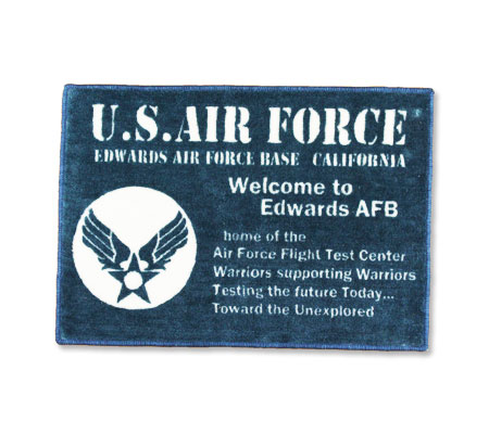 US AIR FORCE 玄関マット