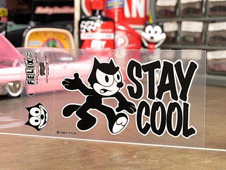 フィリックス・ザ・キャット ステッカー 転写タイプ STAY COOL