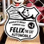 フィリックス・ザ・キャット ステッカー FELIX THE CAT AUTO