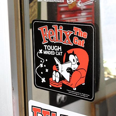 フィリックス・ザ・キャット ステッカー FELIX THE CAT SOFAの使用例