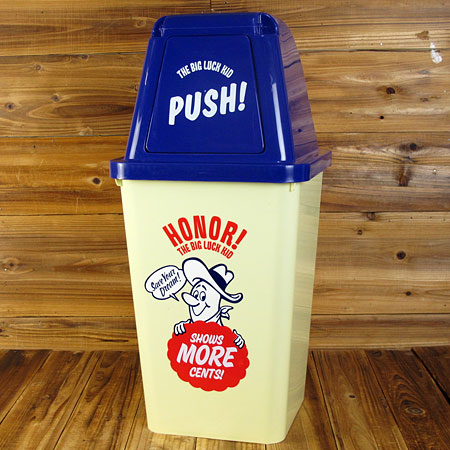 BIG LUCK KID ゴミ箱 20L1