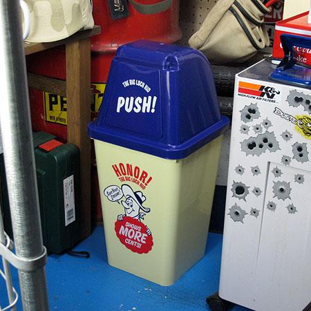 BIG LUCK KID ゴミ箱 20L6