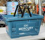 マーキュリー バスケット MERCURY ブルー