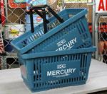 マーキュリー バスケット MERCURY ブルー 2個セット