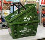 マーキュリー バスケット MERCURY カーキ 2個セット