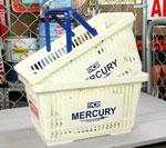 マーキュリー バスケット MERCURY ホワイト 2個セット