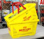 マーキュリー バスケット MERCURY イエロー 2個セット