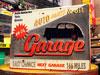 アメリカンインテリアプレート GARAGE AUTO PARTS&OIL