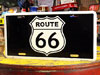 アメリカンライセンスプレート ルート66(ROUTE66) ロードサイン