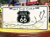 アメリカンライセンスプレート ルート66(ROUTE66) Get Your Kicks