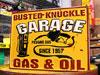 アメリカンインテリアプレート GARAGE GAS&OIL