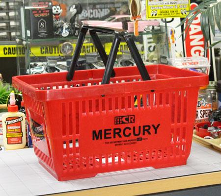 マーキュリー バスケット MERCURY レッド