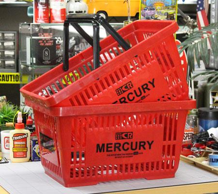 マーキュリー バスケット MERCURY レッド 2個セット