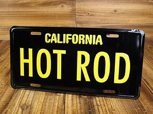 カリフォルニアライセンスプレート/HOT ROD1
