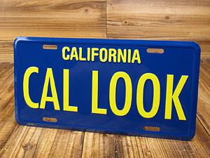 カリフォルニアライセンスプレート/CAL LOOK1