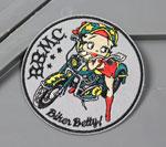 ベティ・ブープ アイロンワッペン バイク