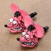 ラットフィンク(RAT FINK) ナンバープレートボルト(ライセンスボルト) 2個セット ピンク
