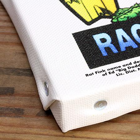 ラットフィンク ポスター キャンバスパネル Rat Fink SURF ALL DAY の淵