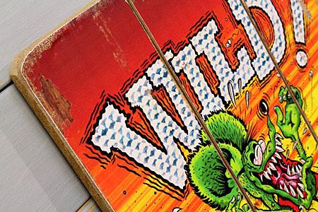 ラットフィンクポスターサインボードアンティーク調木製RatFinkWILDの詳細