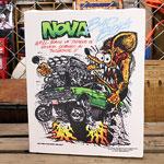 ラットフィンク ポスター キャンバスパネル Rat Fink NOVA サイズM