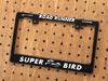 ロードランナー ナンバープレートフレーム(ライセンスフレーム) バイク用 ブラック SUPER BIRD