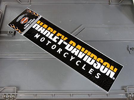 アメリカンバイクブランドバンパーステッカー ハーレーダビッドソン HARLEY-DAVIDSON MOTORCYCLES
