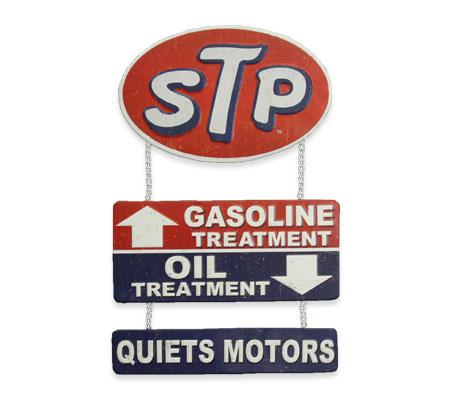 STP サインプレート QUIETS MOTORS 吊り下げタイプ