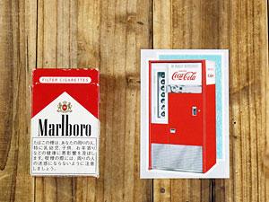 コカコーラステッカー/CC-BA6/Vending Machineの大きさ