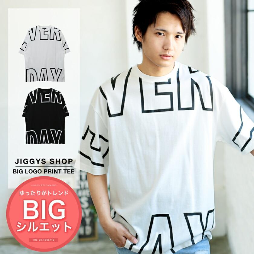 ビッグロゴプリントTシャツ