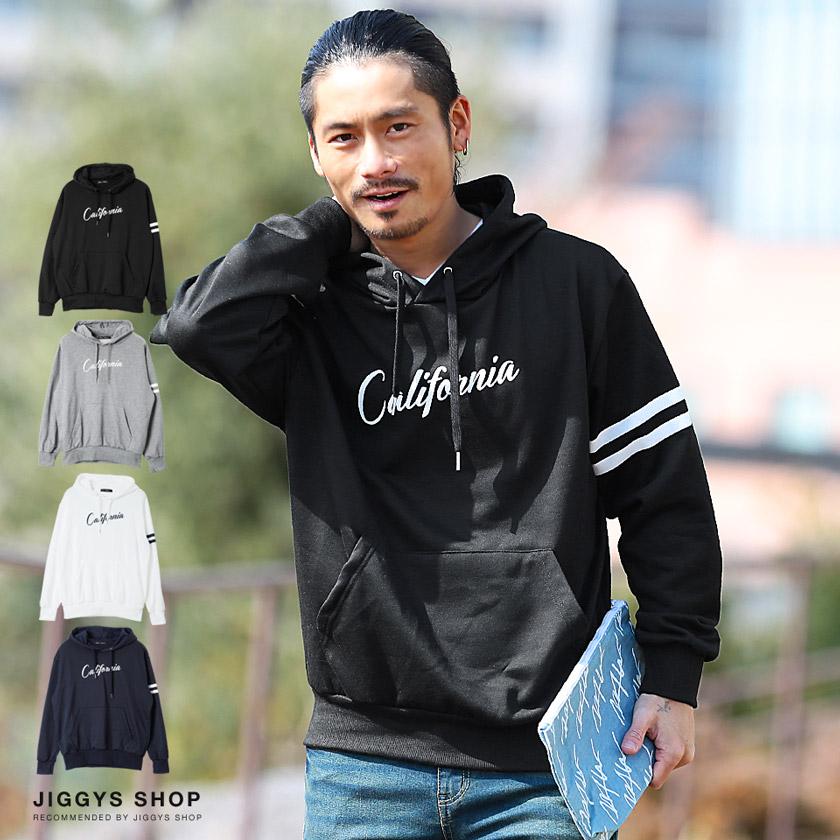 「California」ロゴ裏毛パーカー