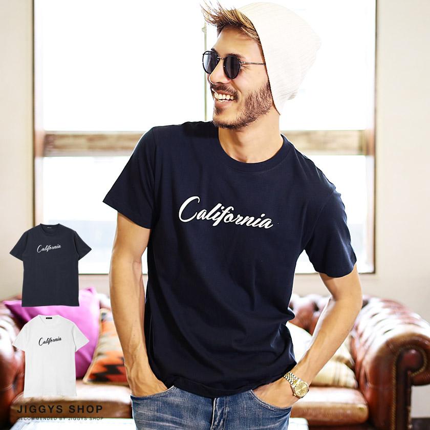 「California」ロゴTシャツ