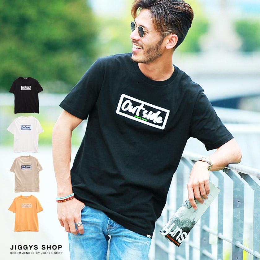BOXロゴサガラ刺繍Tシャツ