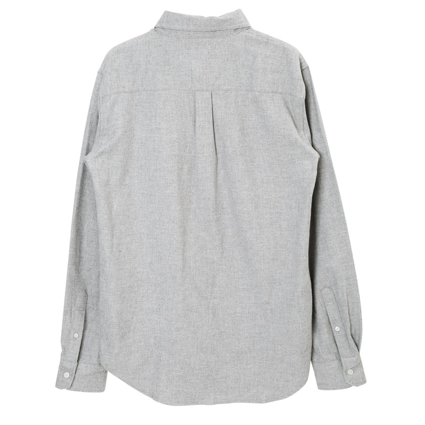 レギュラーカラー&バンドカラーネルシャツ