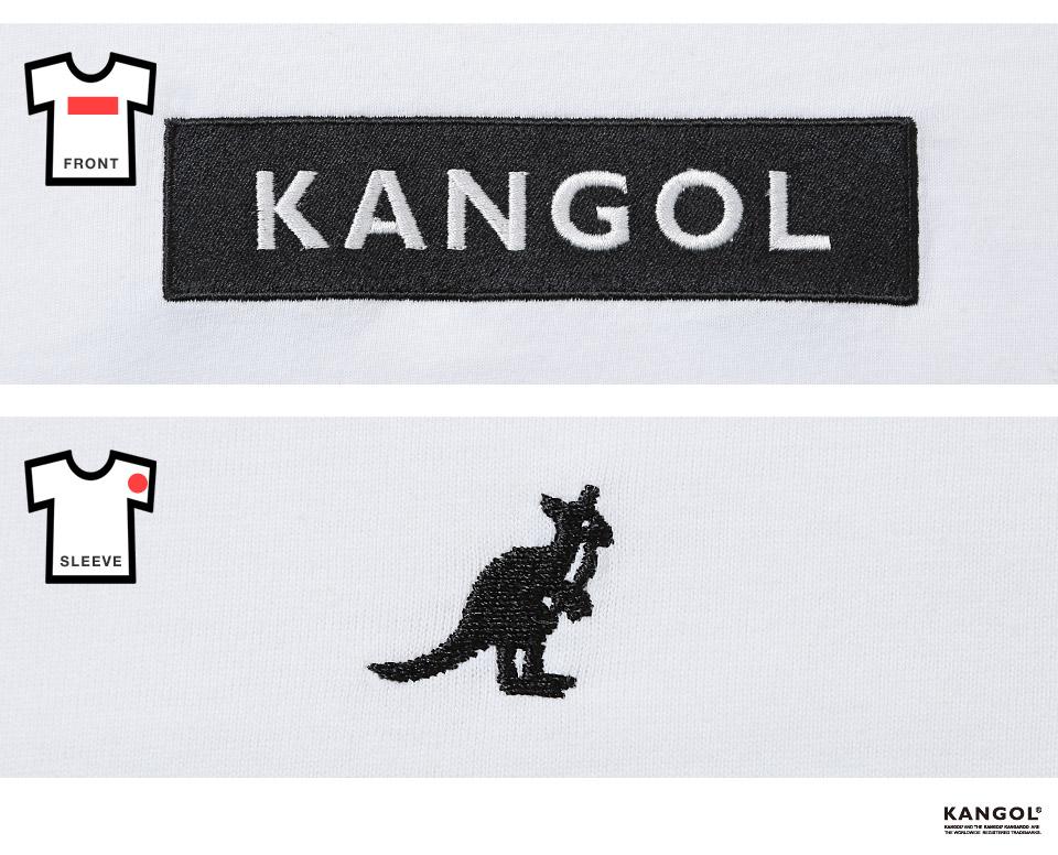 KANGOL刺繍ロゴTシャツ