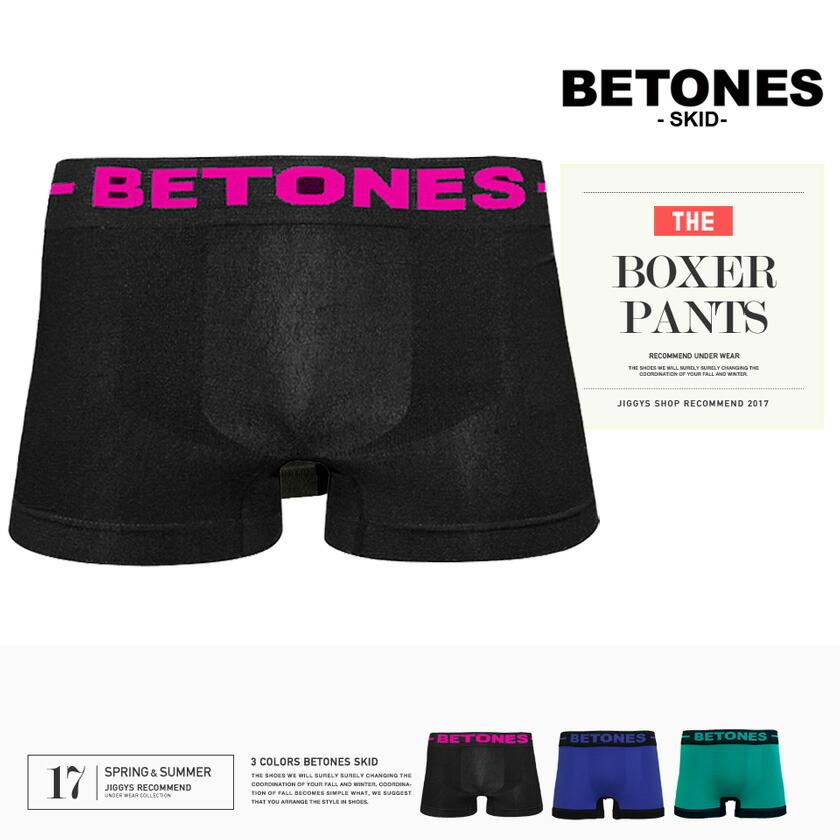 BETONES/ビトーンズ SKID メンズ ボクサーパンツ