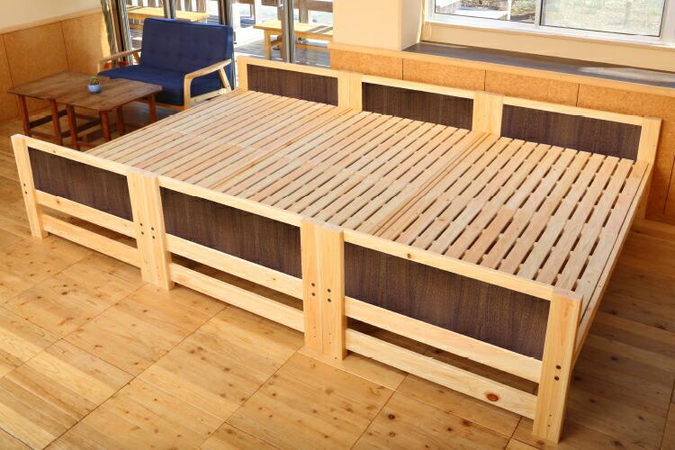 桧3段ベッド
