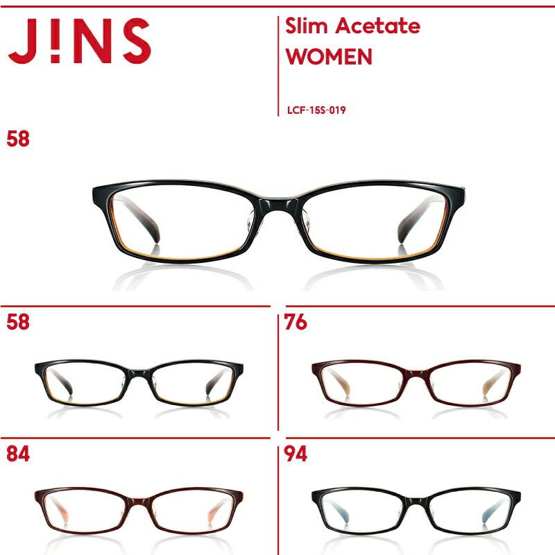 【Slim Acetate】 スリムアセテート-JINS (ジンズ)