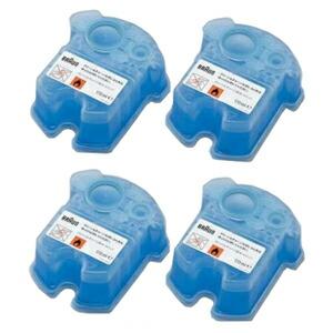 ブラウン アルコール洗浄システム専用洗浄液カートリッジ【4個入】 CCR4CR