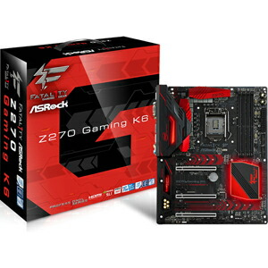 FATAL1TY Z270 GM K6【税込】 ASRock ATX対応マザーボード  [FATAL1TYZ270GMK6]【返品種別B】【送料無料】【RCP】