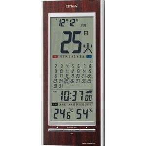 シチズン|置掛時計|パルデジットカレンダー142-23