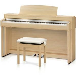 カワイ|電子ピアノ(プレミアムライトオーク調仕上げ)【高低自在椅子&ヘッドホン付き】|CN37-LO