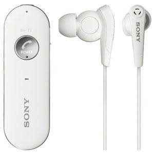 ソニー ノイズキャンセリング搭載Ver.3.0 Bluetoothヘッドセット(ホワイト) MDR-EX31BN-W