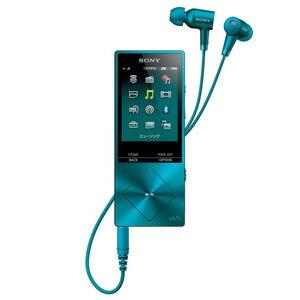 ソニー|ウォークマン A20シリーズ 16GB ハイレゾNCHP同梱モデル<br>(ビリジアンブルー)|NW-A25HN LM