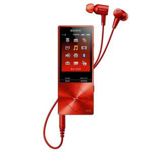 ソニー|ウォークマン A20シリーズ 16GB ハイレゾNCHP同梱モデル<br>(シナバーレッド)|NW-A25HN RM