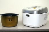 パナソニック スチーム&可変圧力IHジャー炊飯器 『Wおどり炊き』 SR-SPX183-W