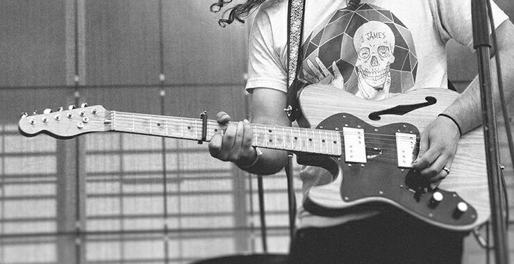 左利き用 エレキギター
