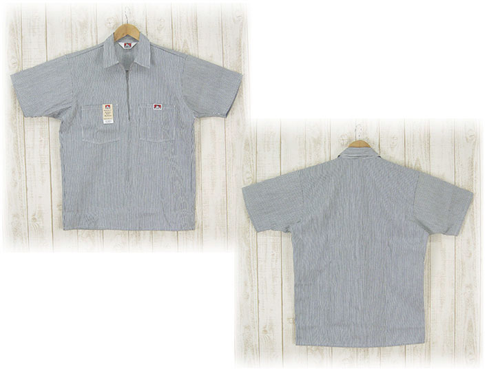 65d5ec7c57 Casualshop JOE: Hickory stripe made in the Ben Davis short sleeves ...