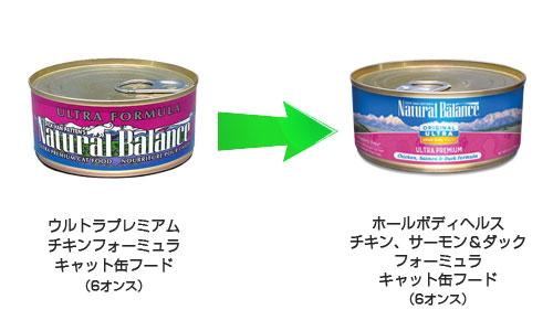 [ナチュラルバランス]オリジナルウルトラ ホールボディヘルス チキン、サーモン&ダックフォーミュラ キャット缶フード 缶詰